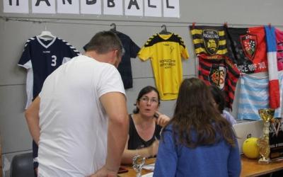 Stand du club de handball, Avenir Survilliers Handball.