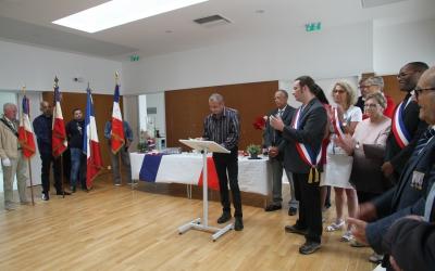 Discours du président de la Fnaca, Christophe Chirache, le 14 juillet 2019 à la mairie de Fosses