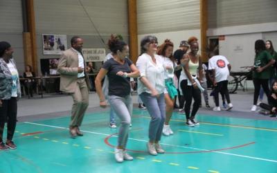 Initiation à une chorégraphie de l'association Let's Danse.