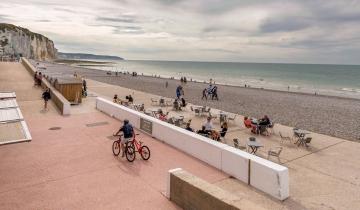 La plage de Dieppe, photo de Giada Connestari