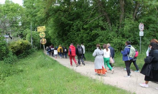 45 marcheurs en route pour Fosses