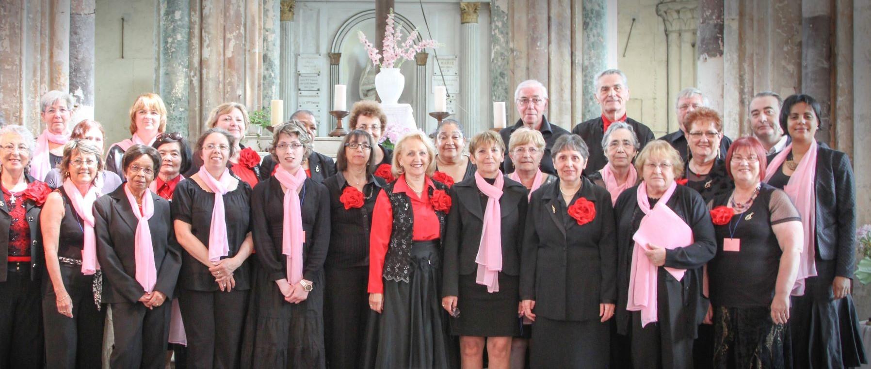 Chorale des adultes de l'EMMD de Fosses en concert
